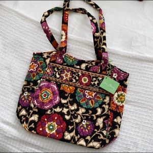 Vera Bradley Holiday Tote in Suzani